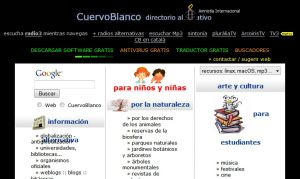 CuervoBlanco : alternativa al portal : directorio alternativo