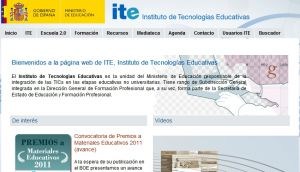 Official website : http://www.ite.educacion.es