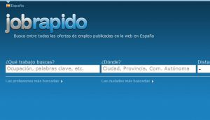 Official website : http://www.jobrapido.es