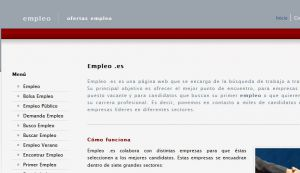 Official website : http://www.empleo.es