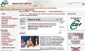 Official website : http://www.csi-csif.es