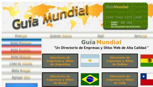 Official website : http://www.guiamundial.com.ar