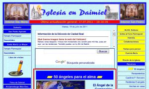 Official website : http://www.iglesiaendaimiel.com