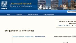 Official website : http://www.dgbiblio.unam.mx