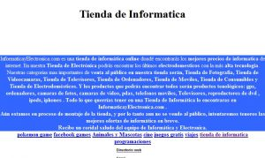 Official website : http://www.informaticayelectronica.com