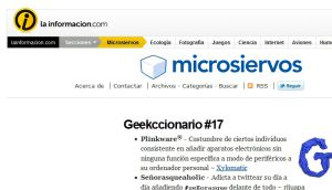 Official website : http://www.microsiervos.com