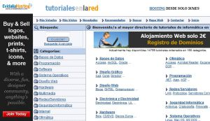 Official website : http://www.tutorialesenlared.com