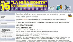 Official website : http://www.loteriasyquinielas.es