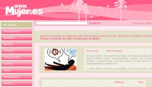 Official website : http://www.mujer.es