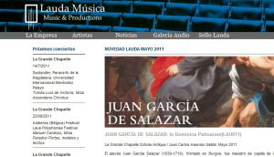 Official website : http://www.laudamusica.com