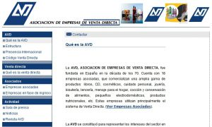 Official website : http://www.avd.es