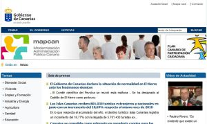 Official website : http://www.gobcan.es